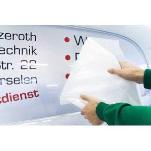 litery na samochód | drukarnia wDruk
