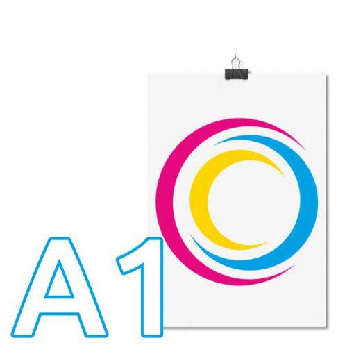 Plakaty A1 drukarnia wDruk