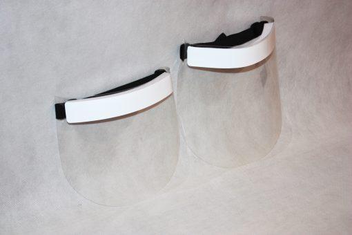 standardowa i przedłużona maska ochronna